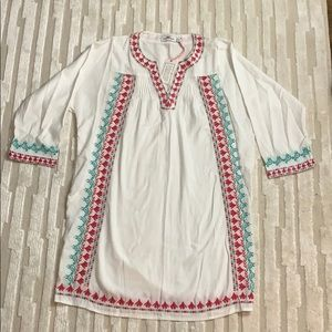 Vineyard Vines embroidered Tunic  Dress